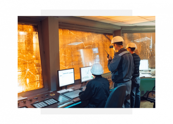 Industrial control center using GE Digital's Predix apps for predictive maintenance