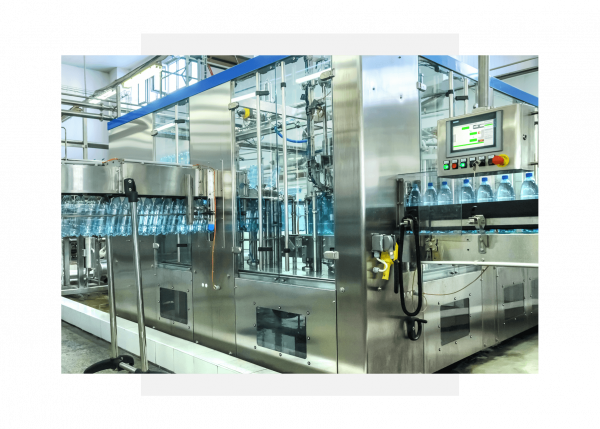 Bottling plant using GE Digital's Predix Machine for data analytics