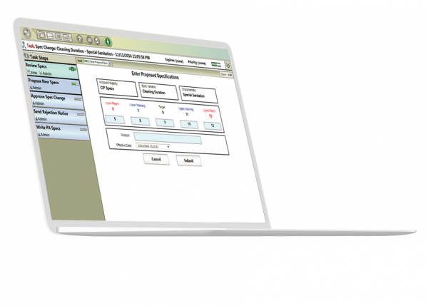 HMI SCADA Workflow software from GE Digital | screenshot showing condition-based maintenance