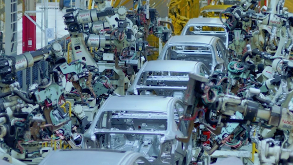 Automotive manufacturing enabled by GE Digital automation software