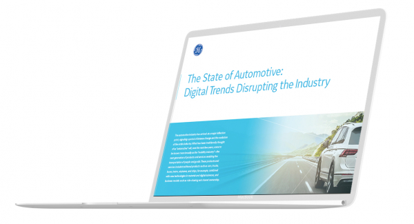State of Automotive: Digital Trends Disrupting hte Industry white paper thumbnail