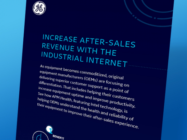 Increase after-sales revenue with the industrial internet for the chemical industry