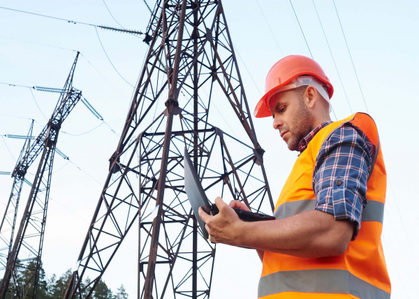 Electric utility engineering using APM software from GE Digital