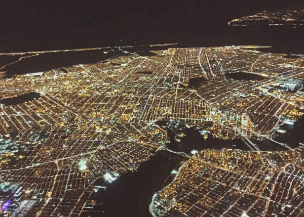 Lighting up city at night is helped with grid analytics from GE