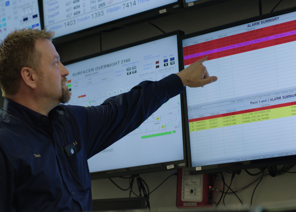 APM control room | GE Digital Asset Performance Management software