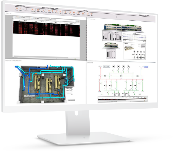 iPower | HMI/SCADA for electric utilities | screenshot