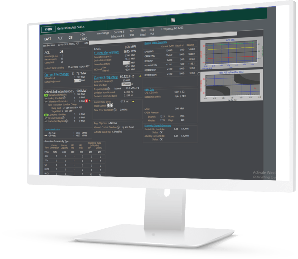 Generation control and optimization software for transmission providers   GE