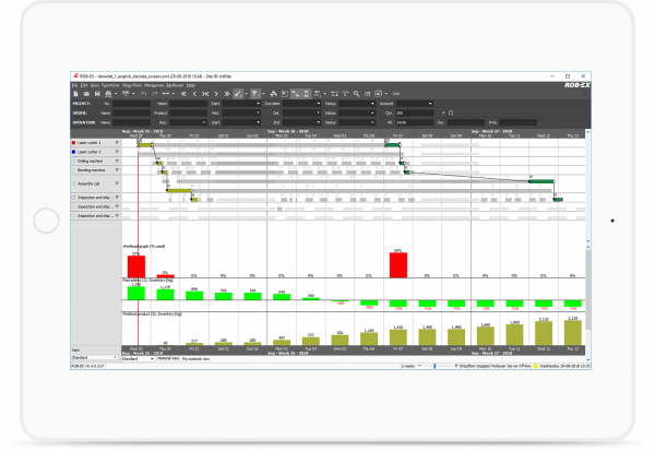 ROB-EX Scheduler from GE Digital | screenshot | simplify scheduling