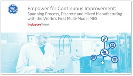 Discrete and process manufacturing software | webinar | GE Digital