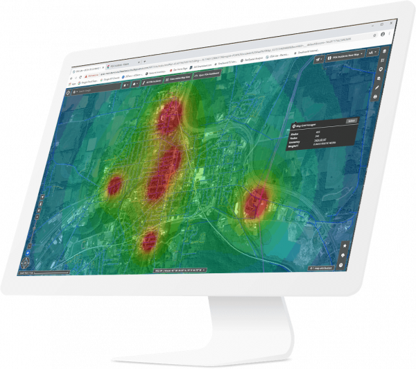GeoSpatial analysis heatmap | GE Digital