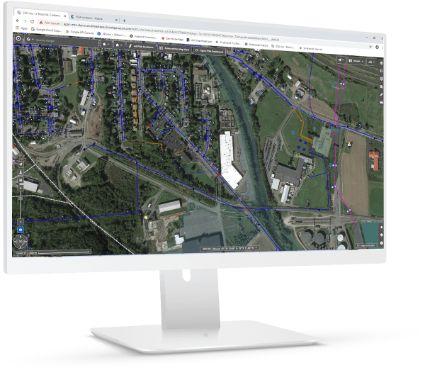 Geospatial analysis Lite allows multiple configurations in a single web application | GE Digital
