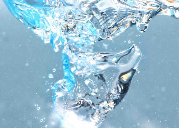 water cascading to represent geospatial software for water utilities from GE Digital