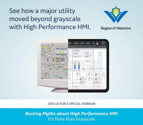 GE Digital and Region of Waterloo Webinar on High performance HMI