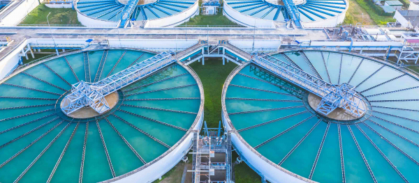 GE Digital software helps water utility companies manage assets | sedimentation tanks