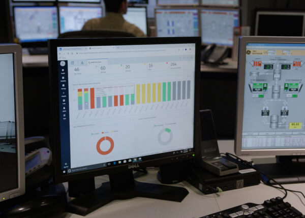 Asset Performance Management (APM) in an industrial control room | GE Digital