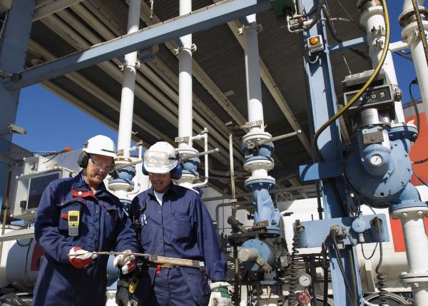 Oil & Gas Maintenance workers | Software for O&G | GE Digital