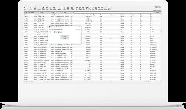 Consistent control interface | HMI/SCADA iFIX screenshot