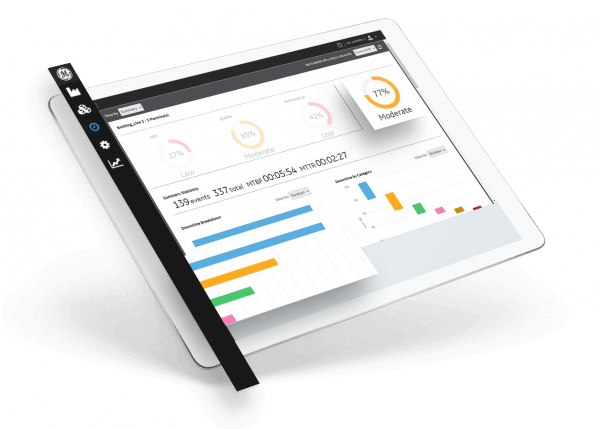 Plant Applications from GE Digital enables real-time KPIs   screenshot