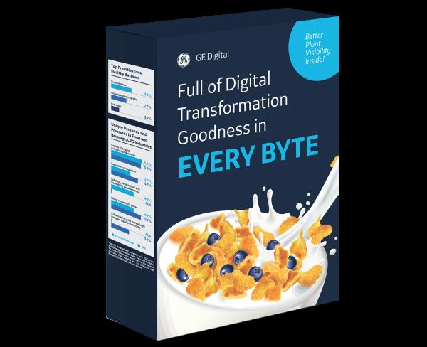 8 ways GE Digital helps Food & Beverage manufacturers | infographic