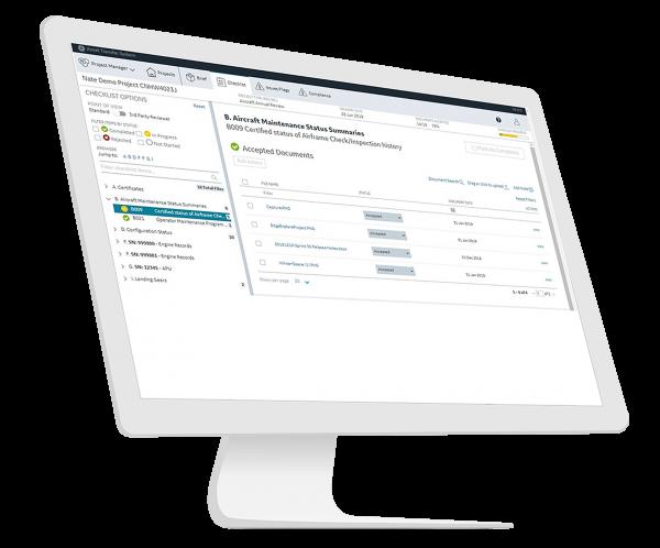 Asset Transfer Software | GE Digital | Aviation software | screenshot