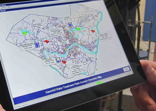 Haverhill uses GE Digital HMI/SCADA software to manage their water utility