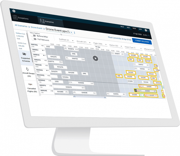 NOO Network Operations | Software for the Aviation industry from GE Digital