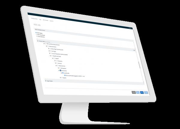 Flight Data Link software for Aviation by GE Digital   screenshot   Choosing measurements