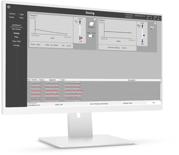 iFIX HMI/SCADA software from GE Digital | Screenshot | Improve productivity with automation software