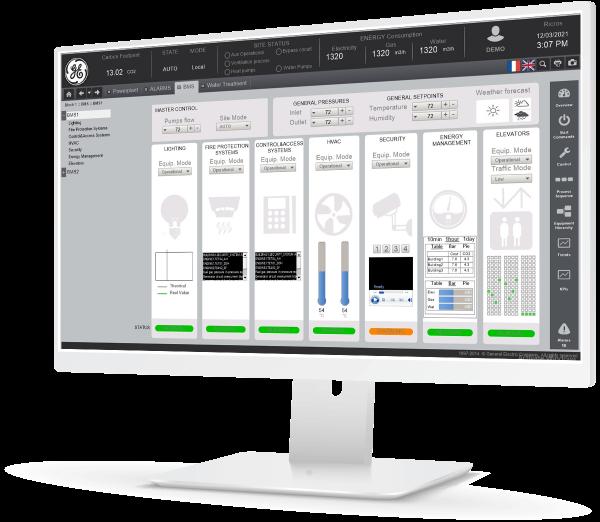 CIMPLICITY HMI/SCADA Provides Plant-Wide Visualization