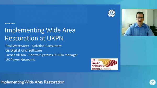 Implementing Wide Area Restoration at UKPN   NextGen SCADA   GE DIgital