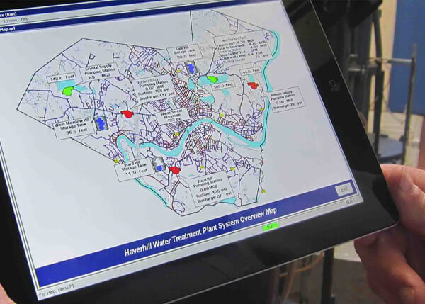 Haverhill uses GE Digital HMI/SCADA software to manage their water utilityHaverhill uses GE Digital HMI/SCADA software to manage their water utility