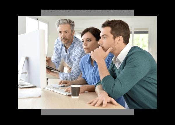 Industrial application software developers using Predix Platform, PaaS, from GE Digital
