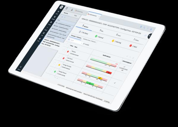 Screenshot of APM Health Manager, | APM Health software | GE Digital