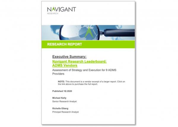 Navigant Research Leaderboard Report: ADMS