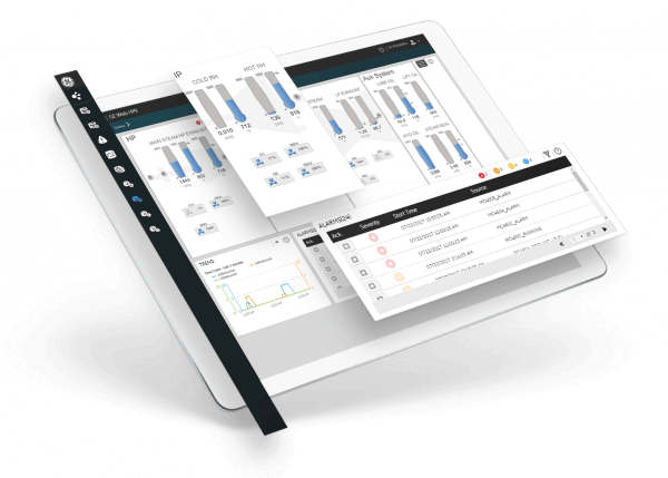 HMI/SCADA software from GE Digital   Screenshot for alarm management