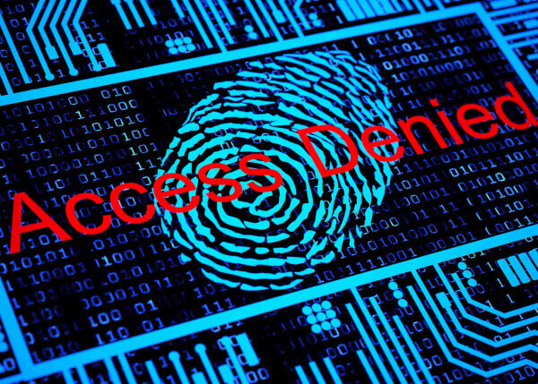Access denied image | Cyber security for utilities and telecoms | GE Digital