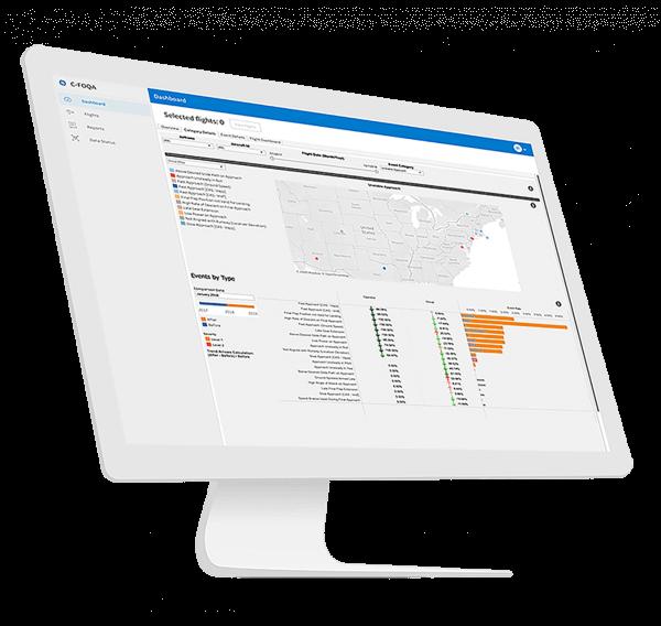 aviation safety management | C-FOQA screenshot | GE Digital Aviation Software