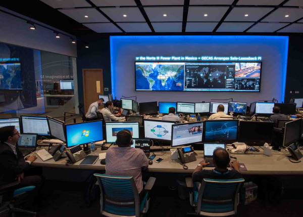 GE Digital Industrial Managed Services team provide remote monitoring and diagnostics