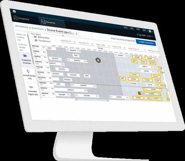 network planning in aviation | NOO Network Operations | GE Digital