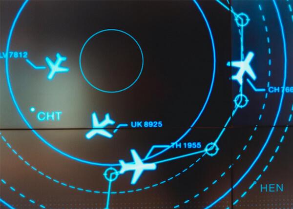 Aviation radar | aviation navigation | GE Digital software