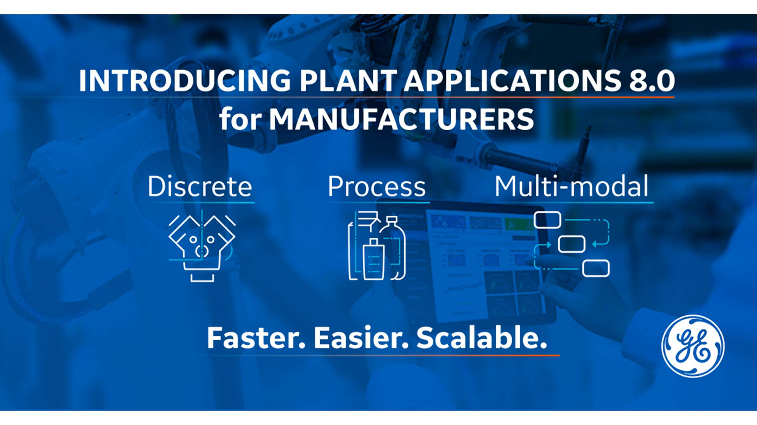 Plant Applications from GE Digital enables real-time KPIs | screenshot