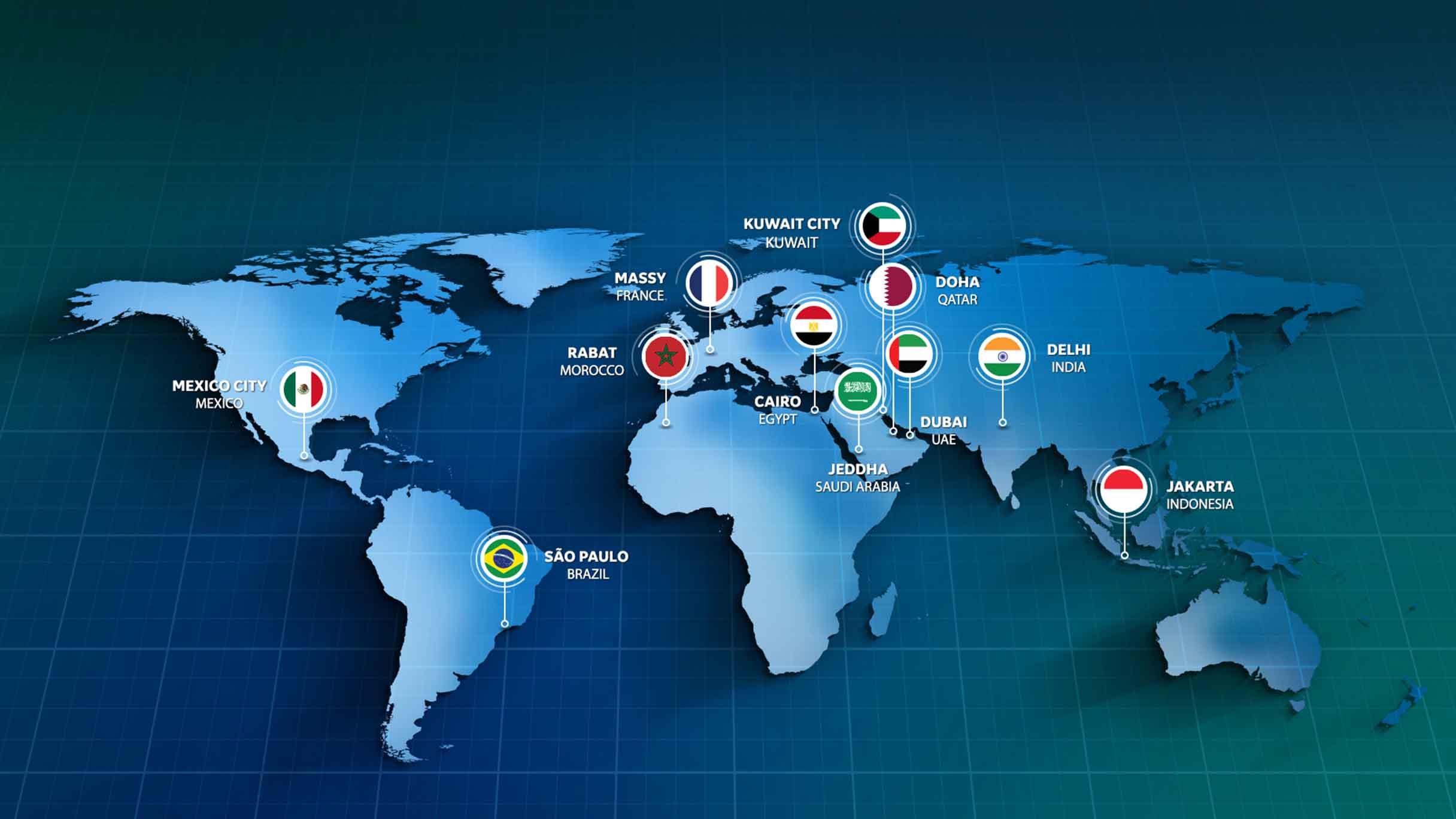 Global network | GE Power Digital
