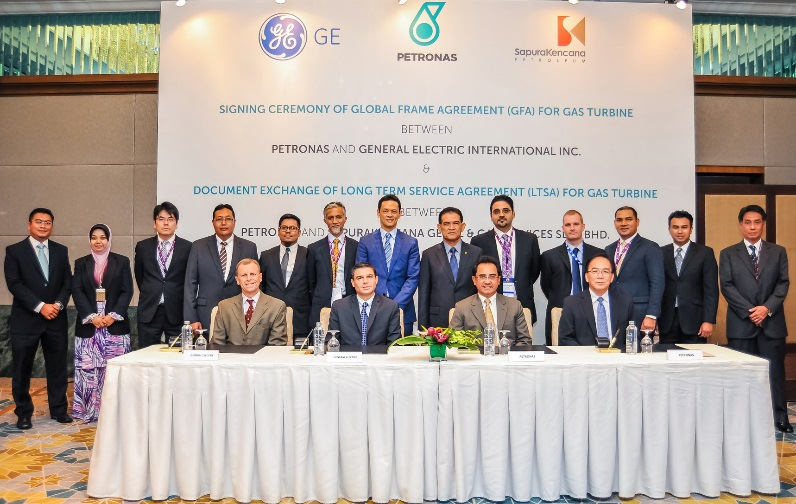 GE and PETRONAS Sign New Global Frame Agreement   GE Newsroom