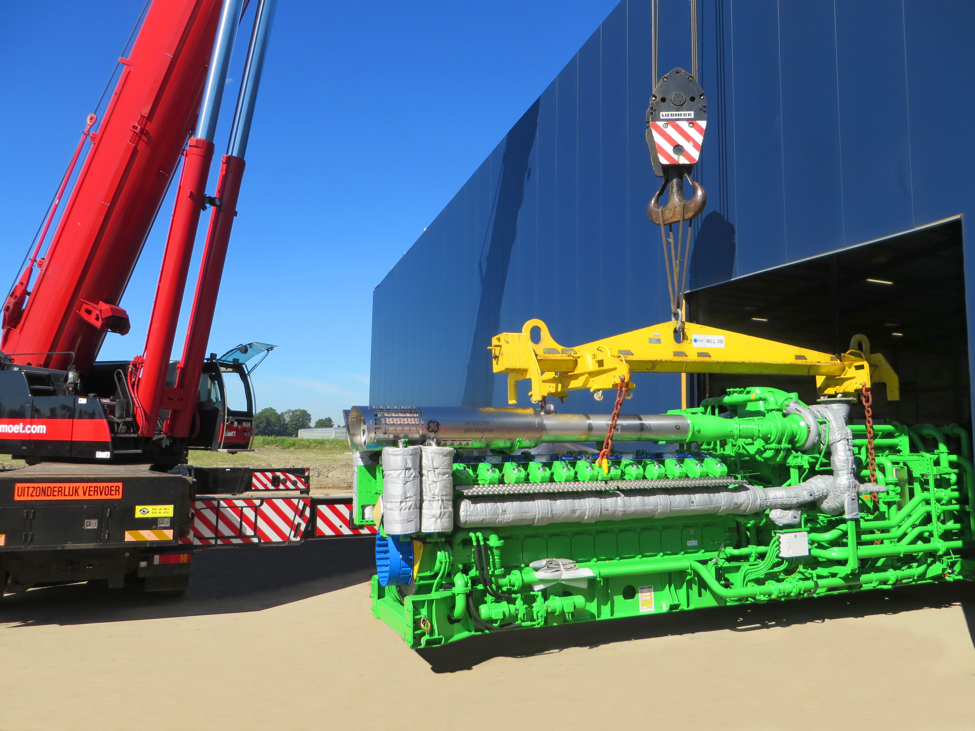 GE to Provide Its Jenbacher Gas Engine Greenhouse Technology and