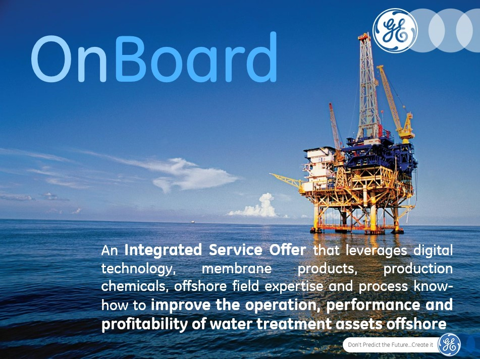 GE Launches OnBoard*, an Integrated Service Offering for Offshore