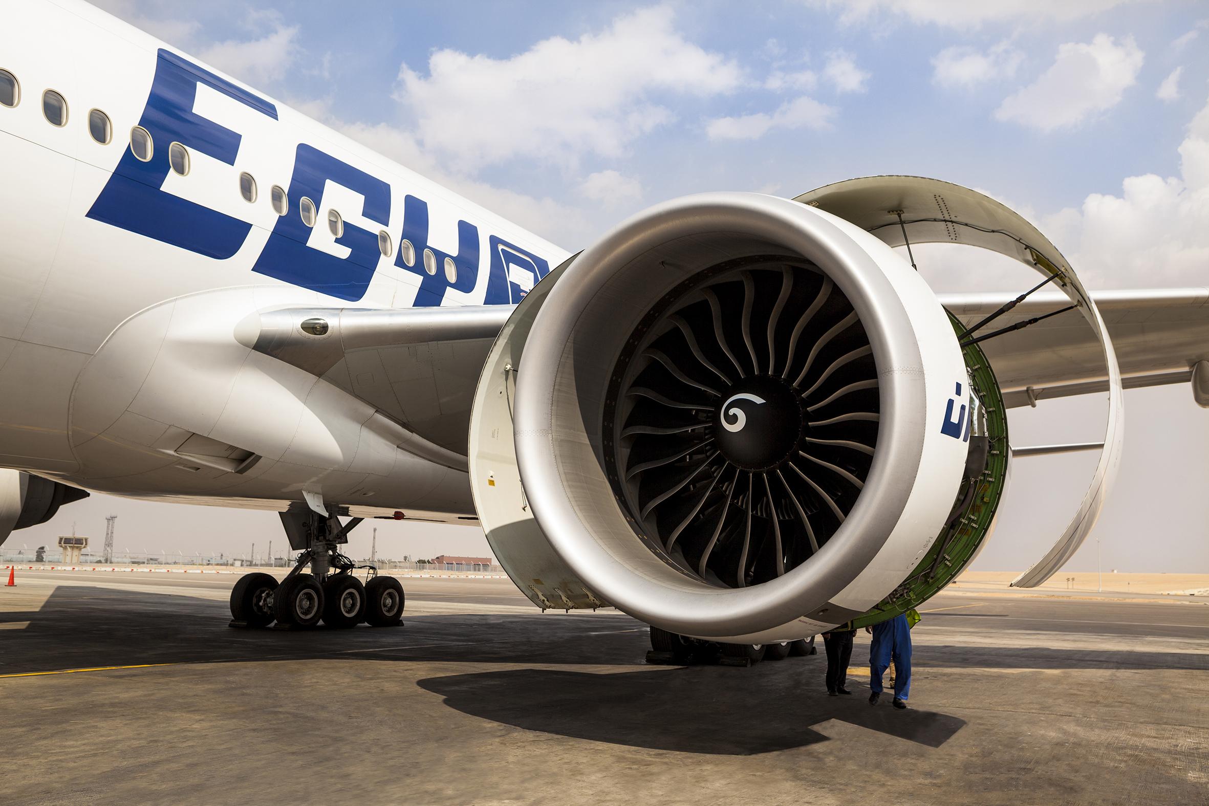 EGYPTAIR signs GE's TrueChoice agreement for overhaul