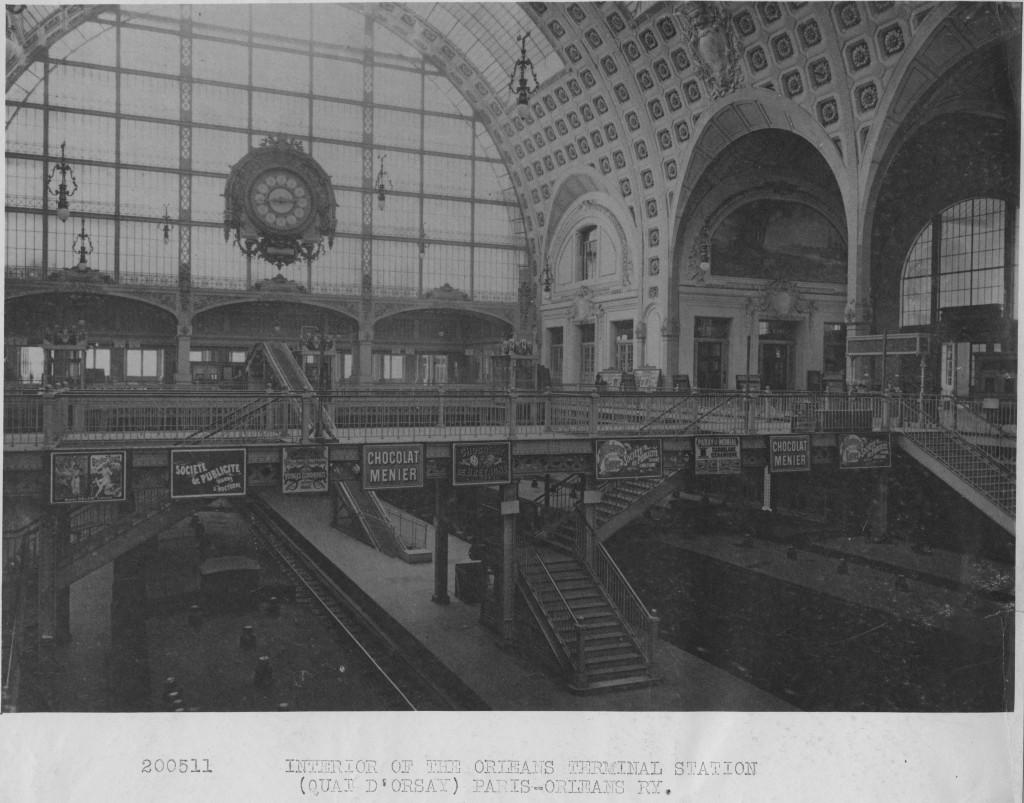 200511 Paris Orleans Railway Station, 1903