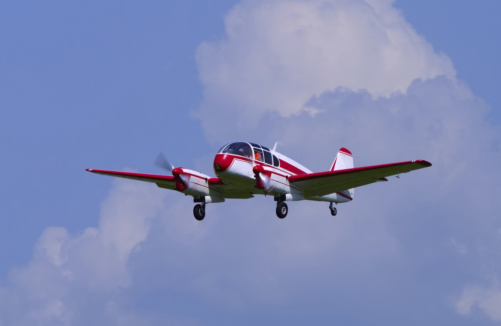 small historic czechoslovakian airliner served as aerotaxi
