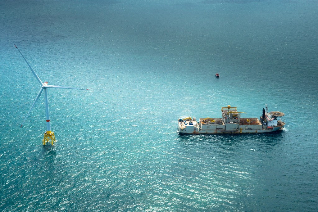 Wind Offshore Project - 2010 - Belwind Wind Farm - Belgium - Haliade 50-6MV - For BELWIND (HALIADE)