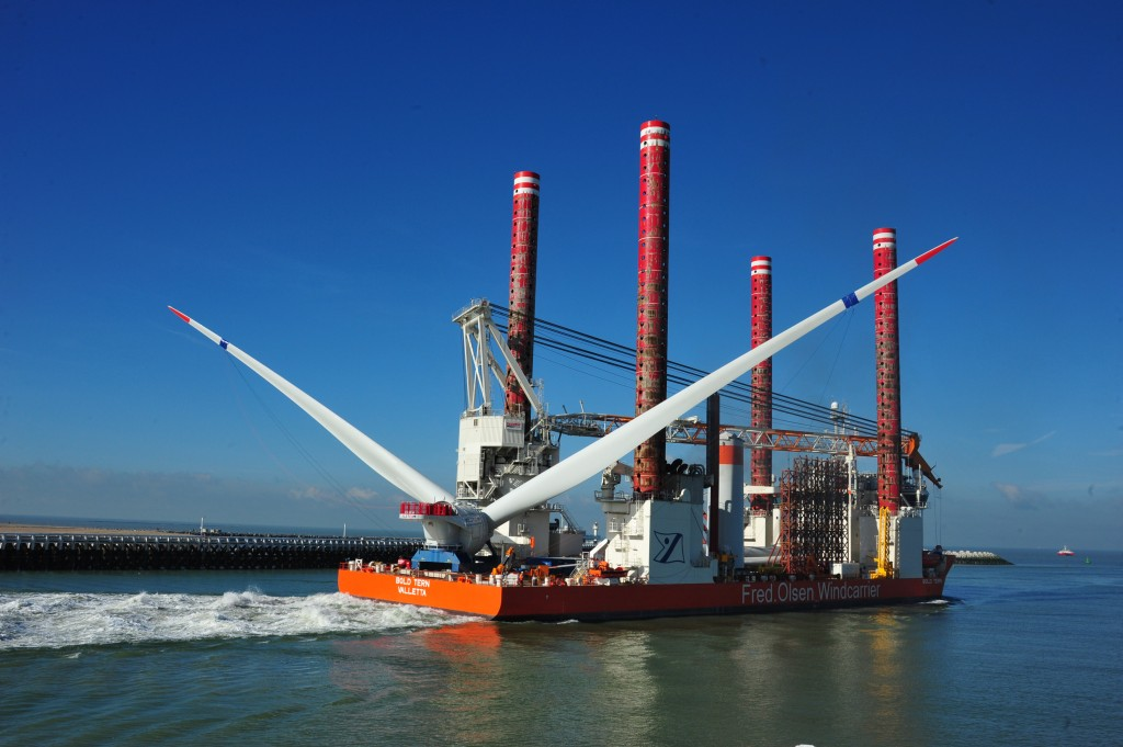 Wind Offshore Project - 2010 - Belwind Wind Farm - Belgium - Haliade 50-6MV - For BELWIND (VEISSEL)